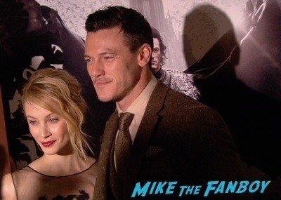Dracula Untold New York Premiere Luke Evans red carpet hot sexy   10