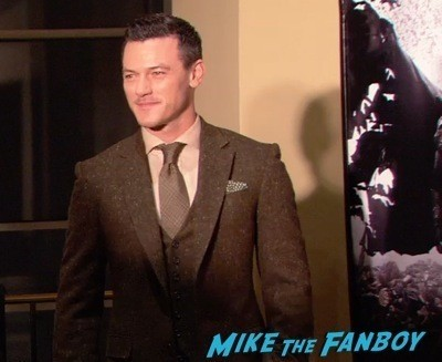 Dracula Untold New York Premiere Luke Evans red carpet hot sexy   14