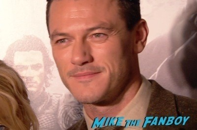 Dracula Untold New York Premiere Luke Evans red carpet hot sexy   2