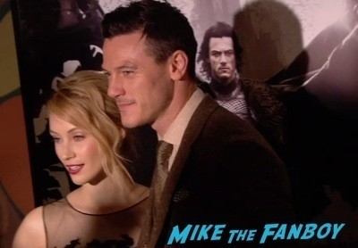 Dracula Untold New York Premiere Luke Evans red carpet hot sexy   3