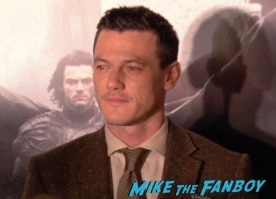 Dracula Untold New York Premiere Luke Evans red carpet hot sexy   7