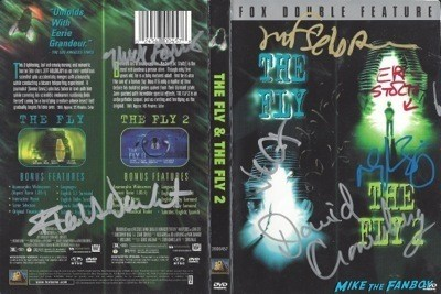 the fly signed dvd cover
