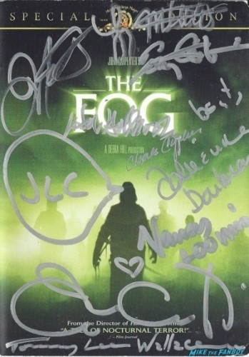the fog signed dvd cover