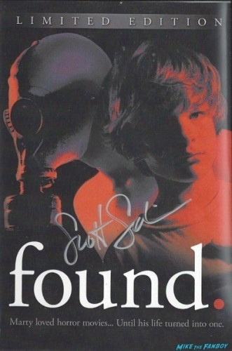 found signed dvd cover