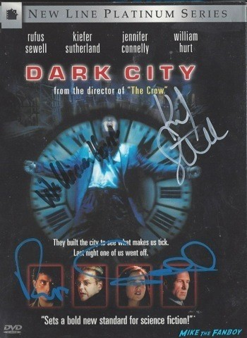 Dark City Signed DVD Cover
