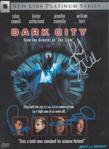 Dark City Signed DVD Cover