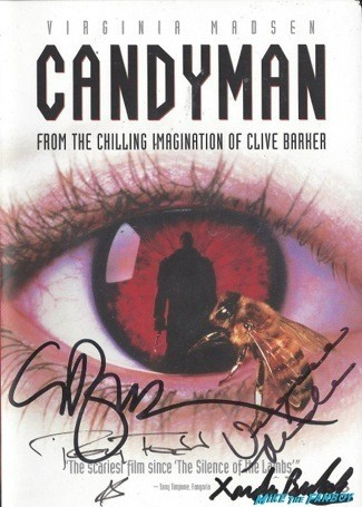 Candyman signed autograph dvd cover