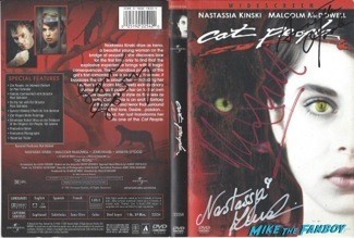 Cat People signed autograph dvd cover