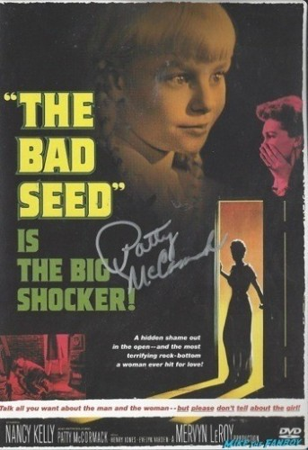 bad seed signed autograph dvd cover rare