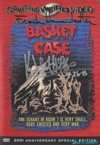 basket case signed autograph dvd cover rare
