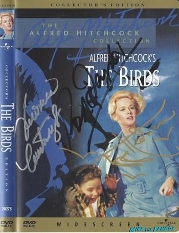 The Birds signed autograph dvd cover rare