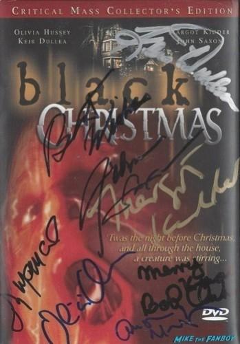 Black Christmas signed autograph dvd cover rare
