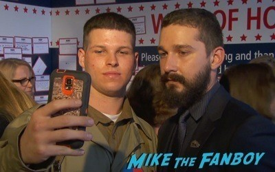 Fury Washington dc movie premiere brad pitt jon bernthal 10