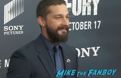 Fury Washington dc movie premiere brad pitt jon bernthal 4