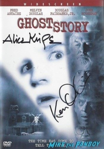 GHOST STORY signed autograph DVD