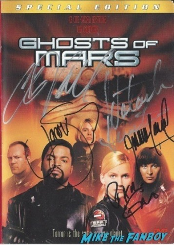 GHOSTS OF MARS signed autograph dvd