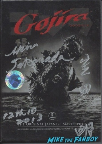 GOJIRA signed autograph dvd
