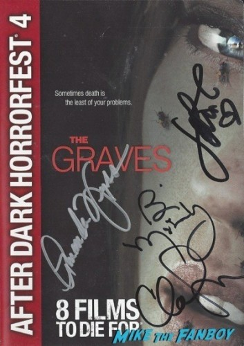 GRAVES signed autograph dvd cover