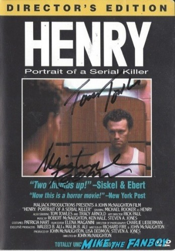 HENRY signed dvd cover