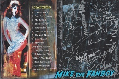HOUSE OF 1000 corpses dvd cover signed