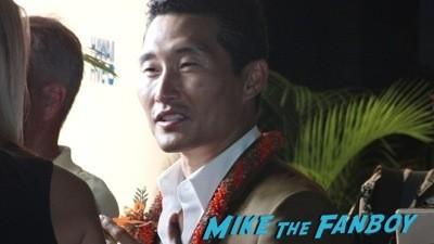 daniel dae kim Hawaii 5-0 Sunset at the beach season 5 premiere event scott caan 3