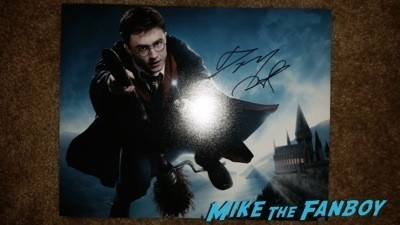Daniel Radcliffe signed autograph photo