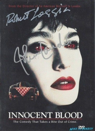 INNOCENT BLOOD signed autograph dvd