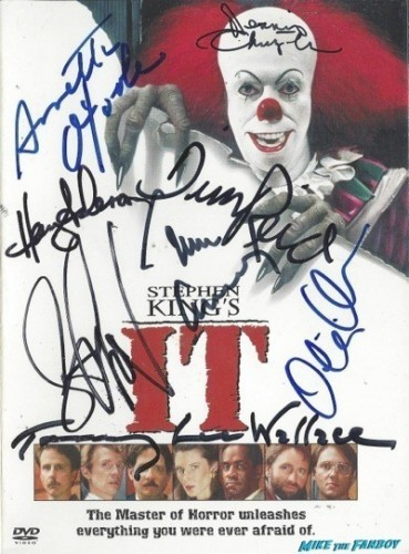 IT signed autograph dvd tim curry IT signed autograph dvd tim curry