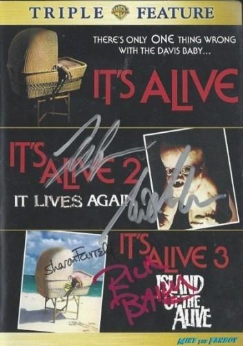 IT'S ALIVE signed autograph dvd