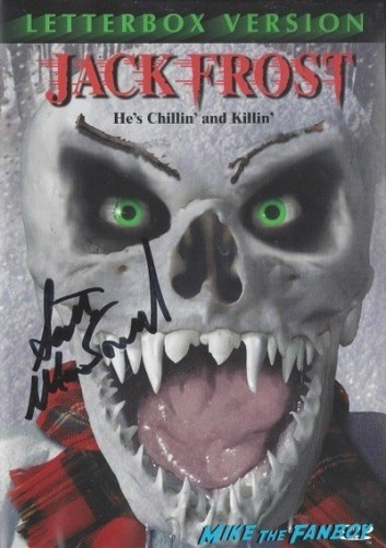 JACK FROST signed autograph dvd