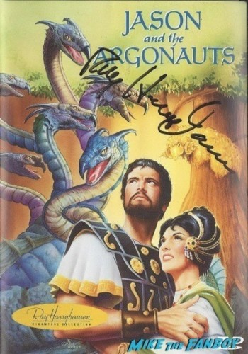 JASON AND THE ARGONAUTS signed autograph dvd