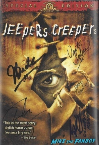 JEEPERS CREEPERS signed autograph dvd