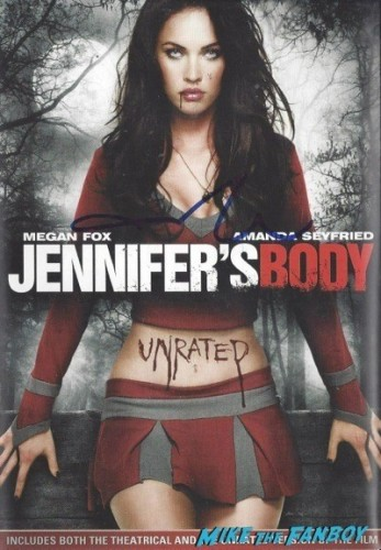 JENNIFER'S BODY signed autograph dvd