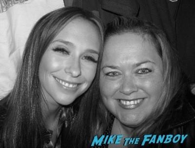 Jennifer Love Hewitt fan photo signing autographs rare