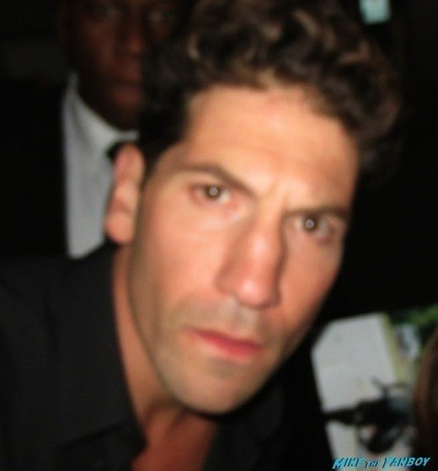Jon Bernthal fan photo selfie signing autographs jimmy kimmel live 1