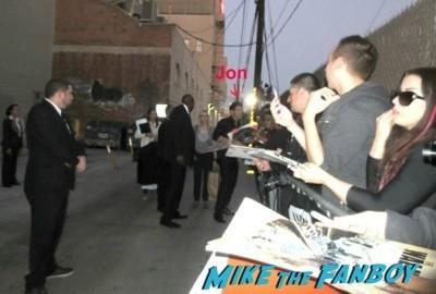 Jon Bernthal signing autographs jimmy kimmel live 2014 1