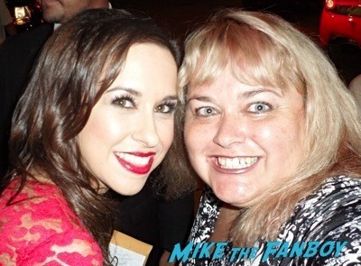Lacey Chabert fan photo signing autographs rare