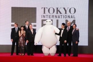 """Big Hero 6"" Japan Premiere - Red Carpet - The 27th Tokyo International Film Festival"
