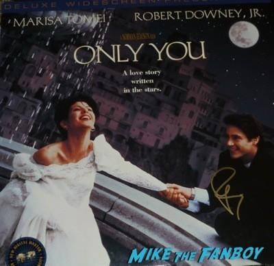Robert Downey Jr robert duvall signing autographs for fans iron man 3
