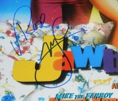 Rose McGowan signed jawbreaker mini poster Dawnfest los angeles signing autographs fan photo rare  11