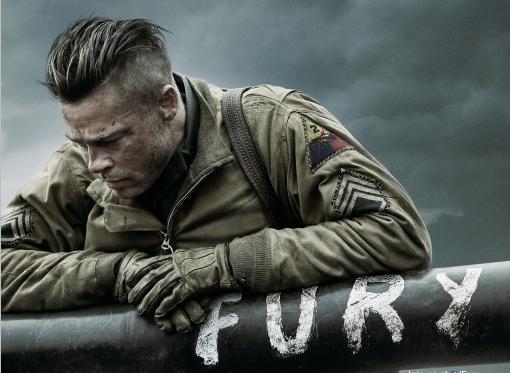 Fury poster rare