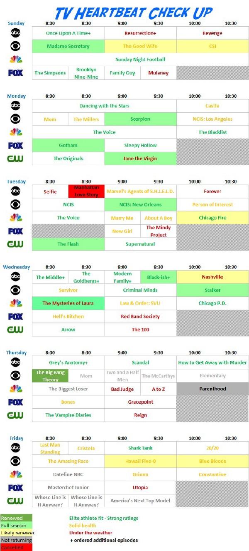 TV HB Chart 10-29