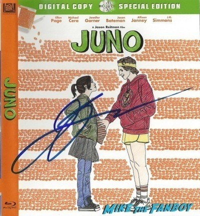 jason reitman signed juno blu-ray cover The Men, Women & Children Premiere Jennifer Garner signing autographs dean norris 19