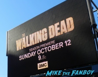 The Walking Dead Season 5 Premiere Norman Reedus Andrew Lincoln signing autographs  1