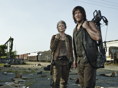 Walking Dead 5 daryl carol