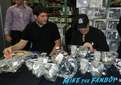 dan aykroyd crystal head vodka autograph signing costco burbank halloween 3