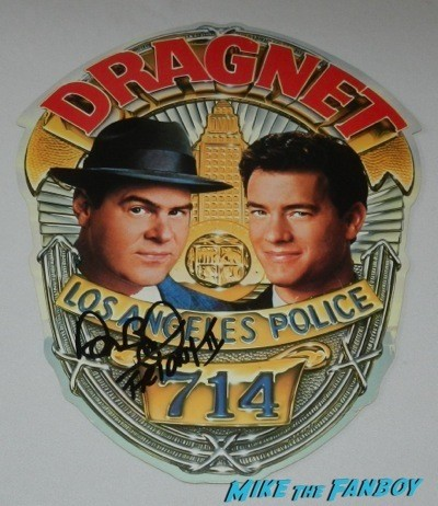 dan aykroyd signed Dragnet vhs mobile autograph crystal head vodka autograph signing costco burbank halloween 51
