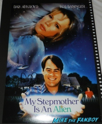 dan aykroyd my stepmother is an alien mini poster crystal head vodka autograph signing costco burbank halloween 54
