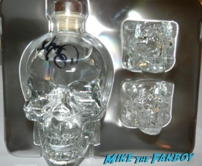 dan aykroyd crystal head vodka autograph signing costco burbank halloween 61