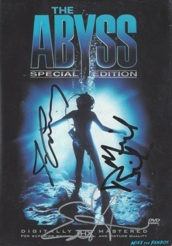 ABYSS signed autograph dvd cover rare